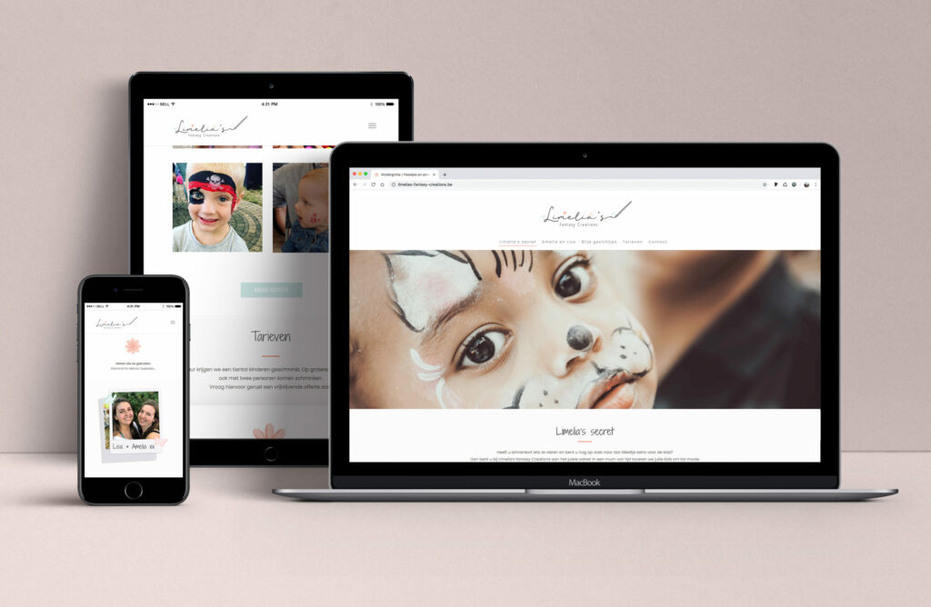Digitale communicatie zoals webdesign. Antwerpen, Webdesign WordPress, Studio Sans
